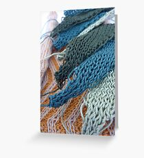 Knitted Designs  Greeting Card