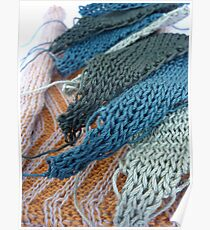 Knitted Designs  Poster