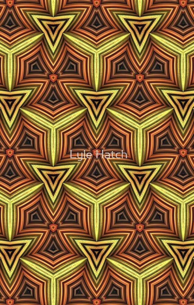 Earth Tone Pattern by Lyle Hatch