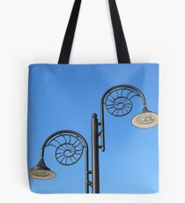 The street lamps Tote Bag