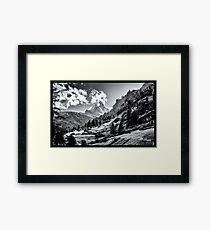zermatt (003), (matterhorn) Framed Print