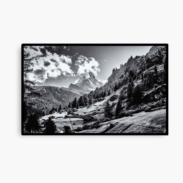 zermatt (003), (matterhorn) Canvas Print