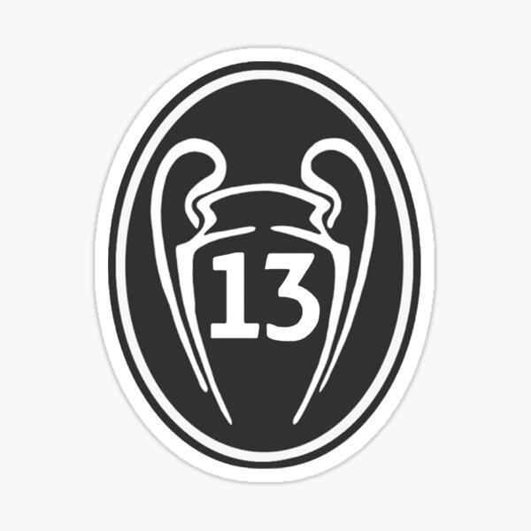 Real Madrid 13 Pegatina