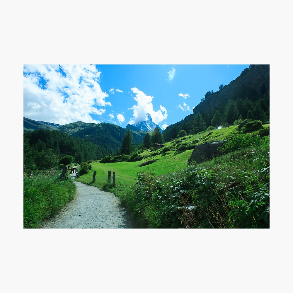 zermatt (004), (matterhorn) Photographic Print