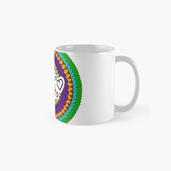 Have Faith Mandala by SimmyGhatt Classic Mug