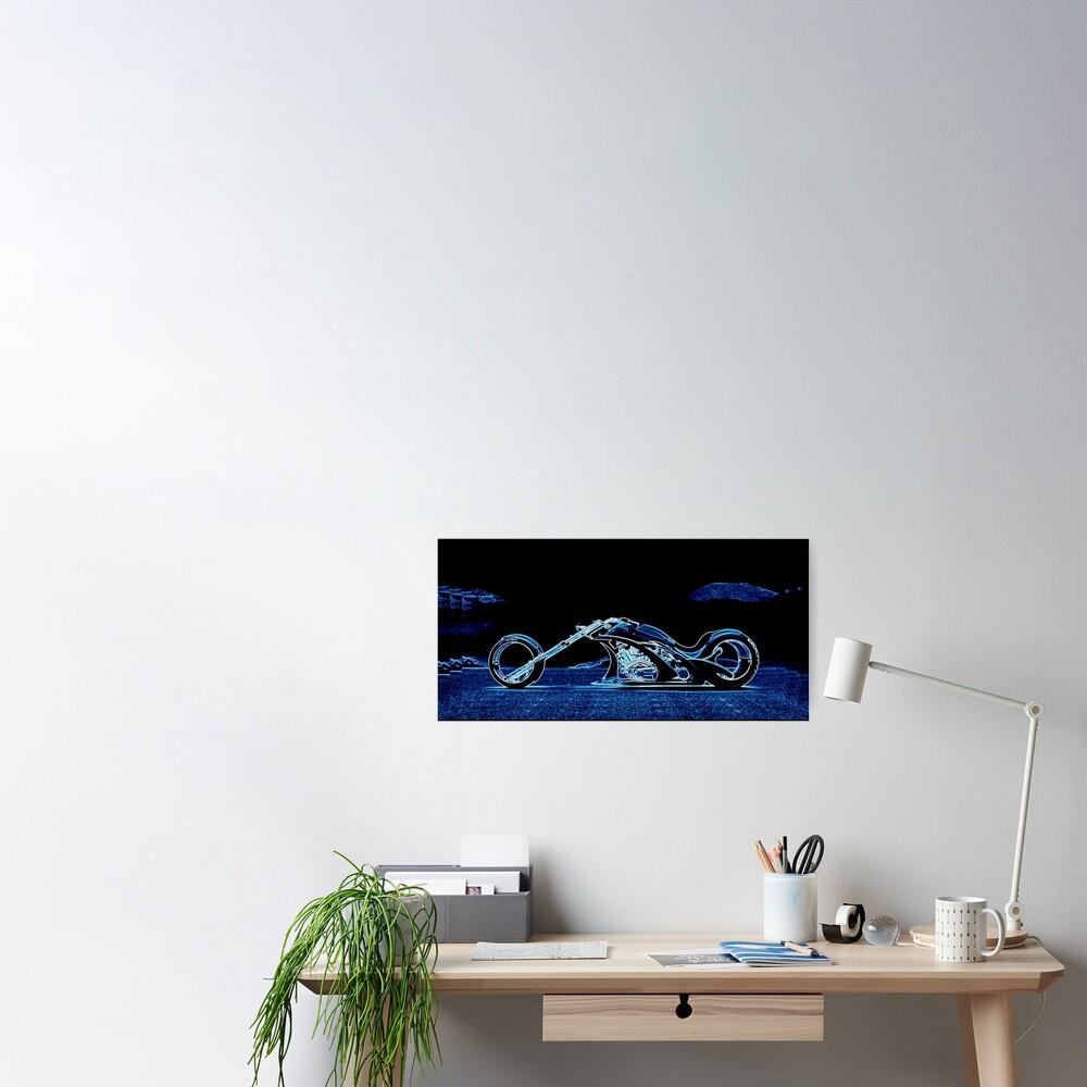 BLUE CHOPPER Poster