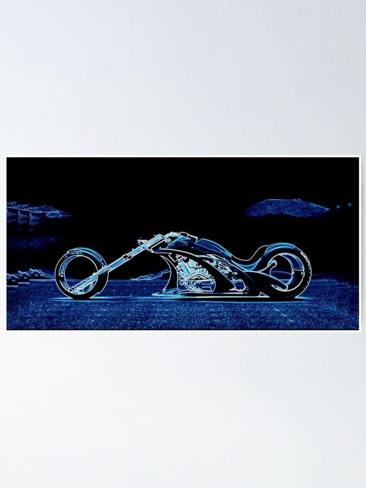 Alternate view of BLUE CHOPPER Poster