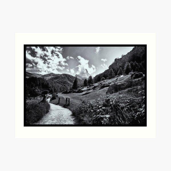 zermatt (005), (matterhorn)  Art Print