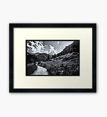 zermatt (005), (matterhorn)  Framed Print