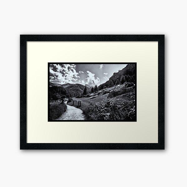 zermatt (005), (matterhorn)  Framed Art Print