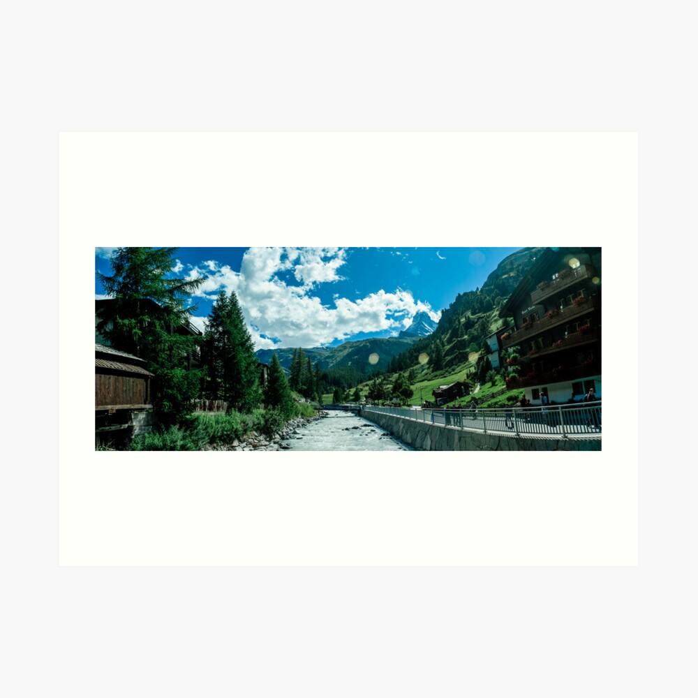 zermatt (006), (matterhorn)  Art Print