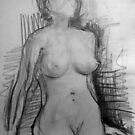 Life Drawing 8. by Andy Nawroski