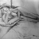 Life Drawing Study 9. by Andy Nawroski