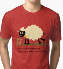 Little Sheep Tri-blend T-Shirt