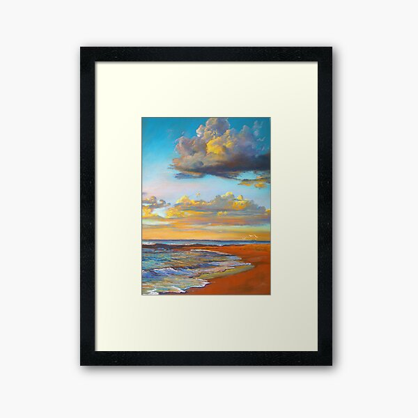 Marengo Sunrise Framed Art Print