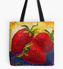 Bolsa de tela Red Strawberries II