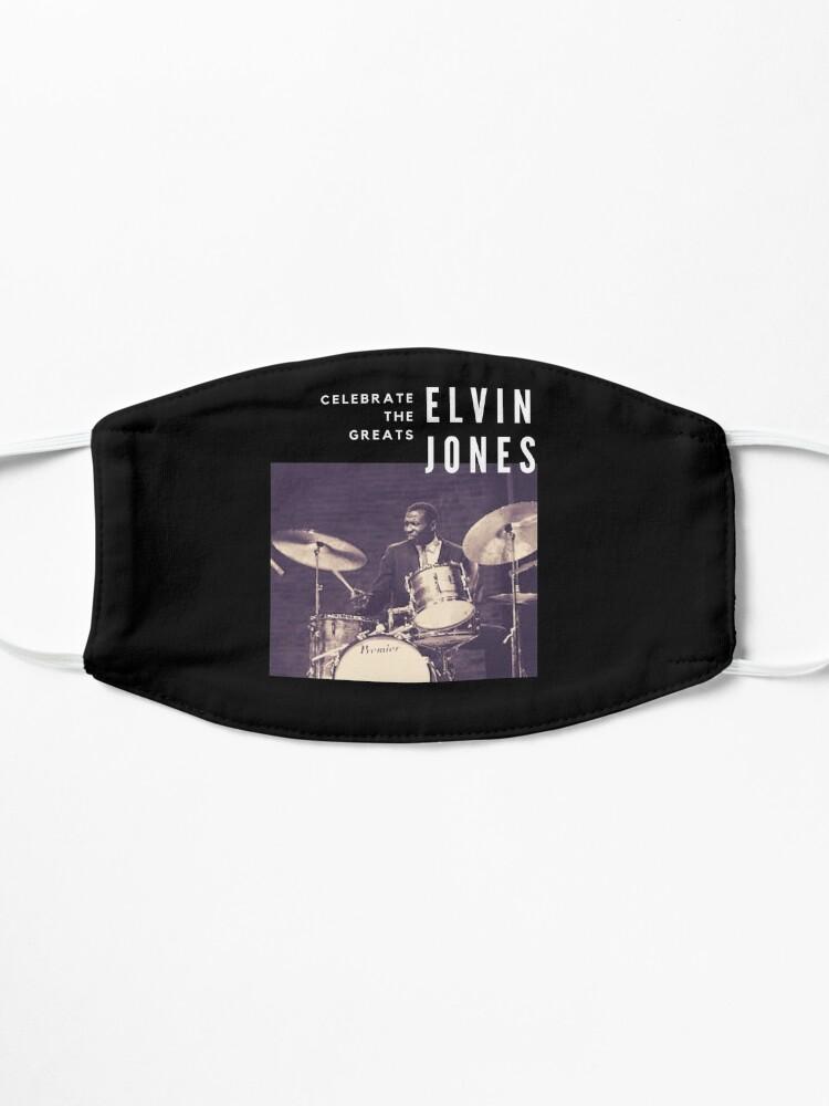 Alternate view of Elvin Jones: Great Jazz Drummer/ Musician Mask