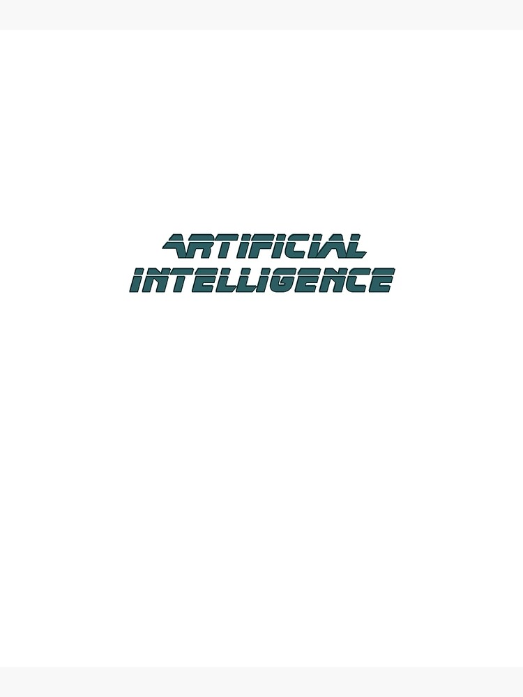 Artificial Intelligence Modern Graphic by Caleb-Turner