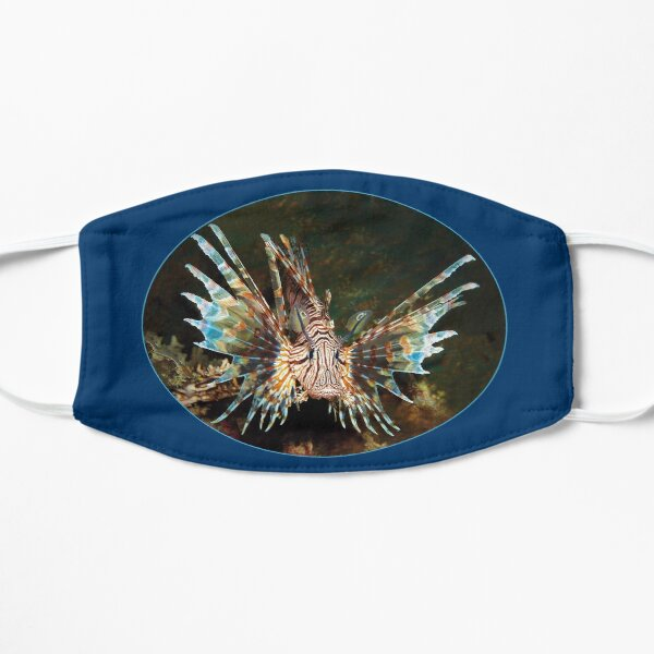 Feuerfisch | Frei schwimmend im weiten Meer |  Flache Maske