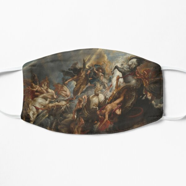 The Fall of Phaeton Oil Painting by Sir Peter Paul Rubens Flat Mask