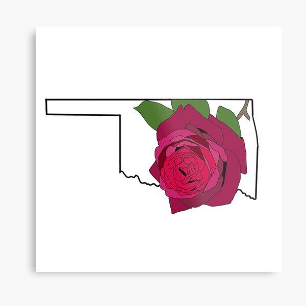 Oklahoma State Flower Wall Art Redbubble