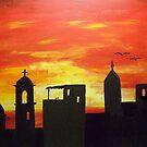 City Sunset by Guy Wann