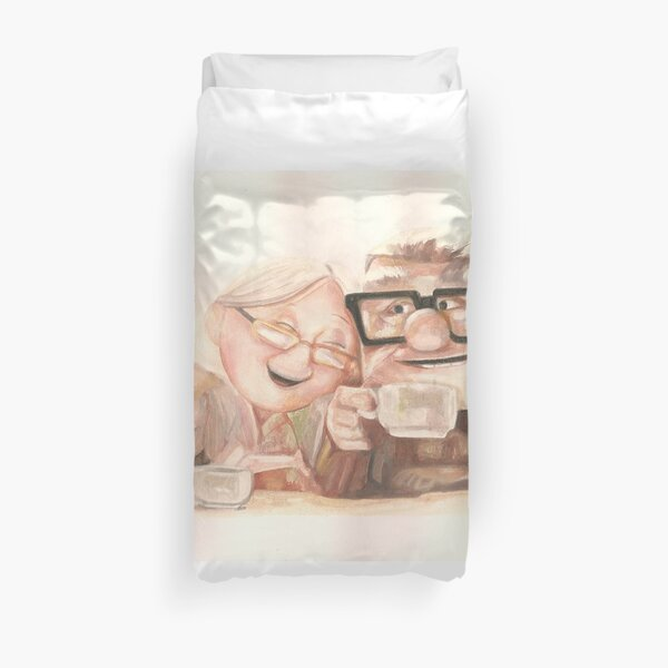 Up Movie - Carl and Ellie Duvet Cover
