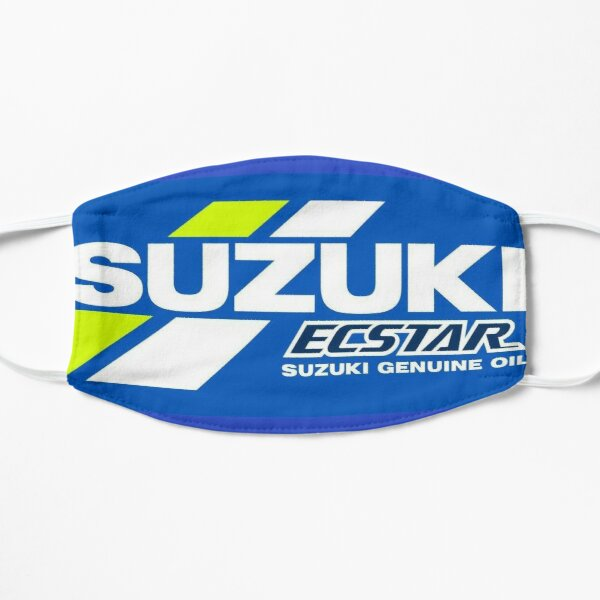 MotoGP Suzuki Mascarilla plana