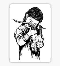Goat Girl Sticker