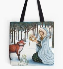 The Gift of Time to the Red King Tote Bag