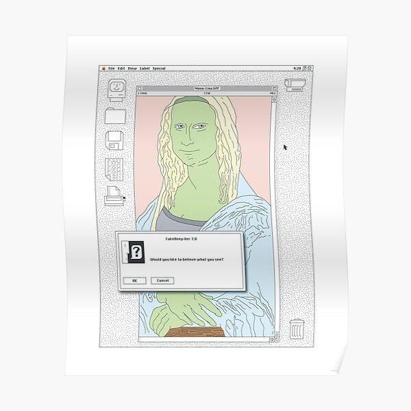 Mac Lisa Poster