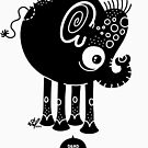 Black Elephant by Will Wood