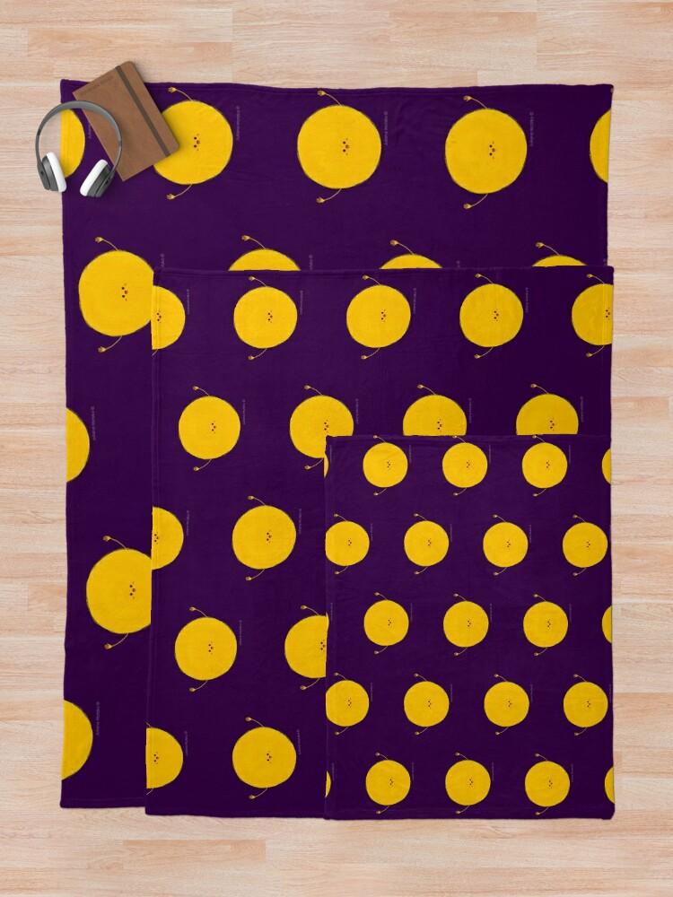 Alternate view of Sun Throw Blanket