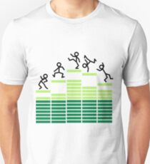 Dancing on the Equalizer Unisex T-Shirt