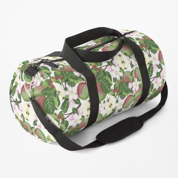 Apple botanical watercolour Duffle Bag