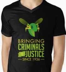 The Green Bee Men's V-Neck T-Shirt