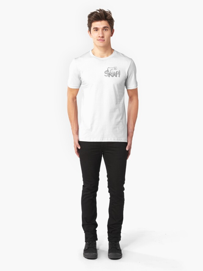 Alternate view of Snap Slim Fit T-Shirt