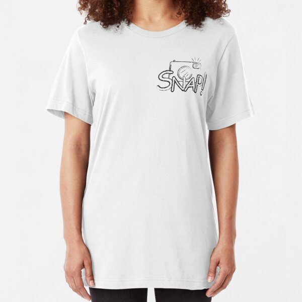 Snap Slim Fit T-Shirt