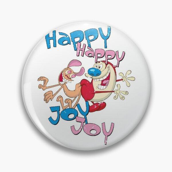 Heureux Joy Joy Joy Badge
