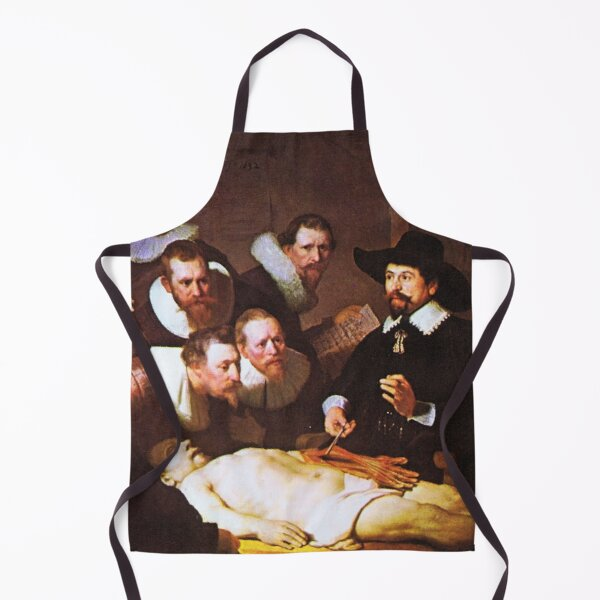 Anatomy Lesson by Rembrandt  Apron