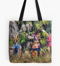 Seminole War Reenactment in South Florida Tote Bag