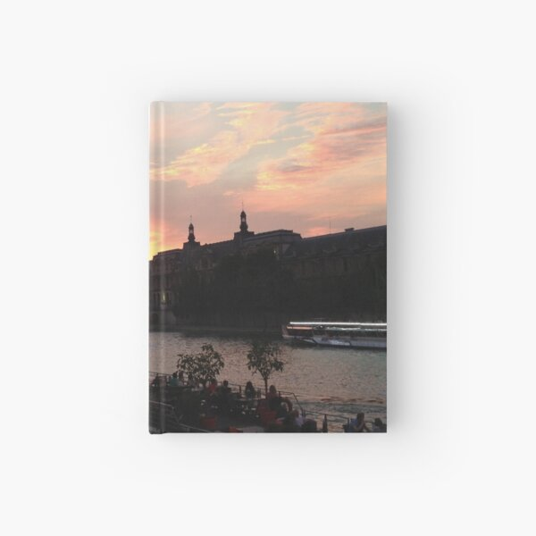 Parisian Sky  Hardcover Journal