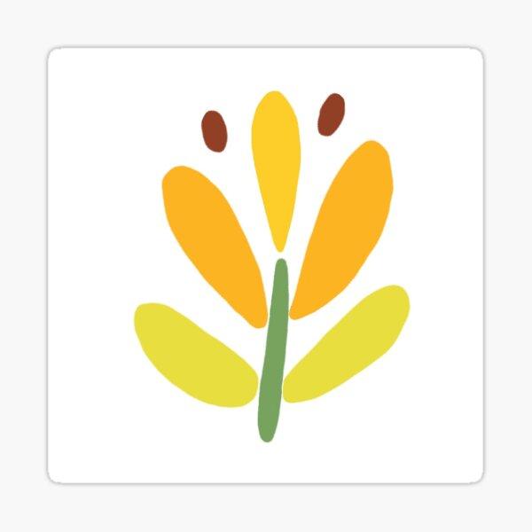 Little Dalecarlia flower Sticker