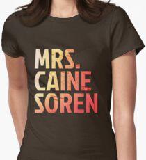 Mrs. Caine Soren Womens Fitted T-Shirt