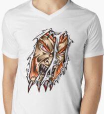 Tearing Men's V-Neck T-Shirt