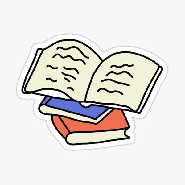 three little books Sticker