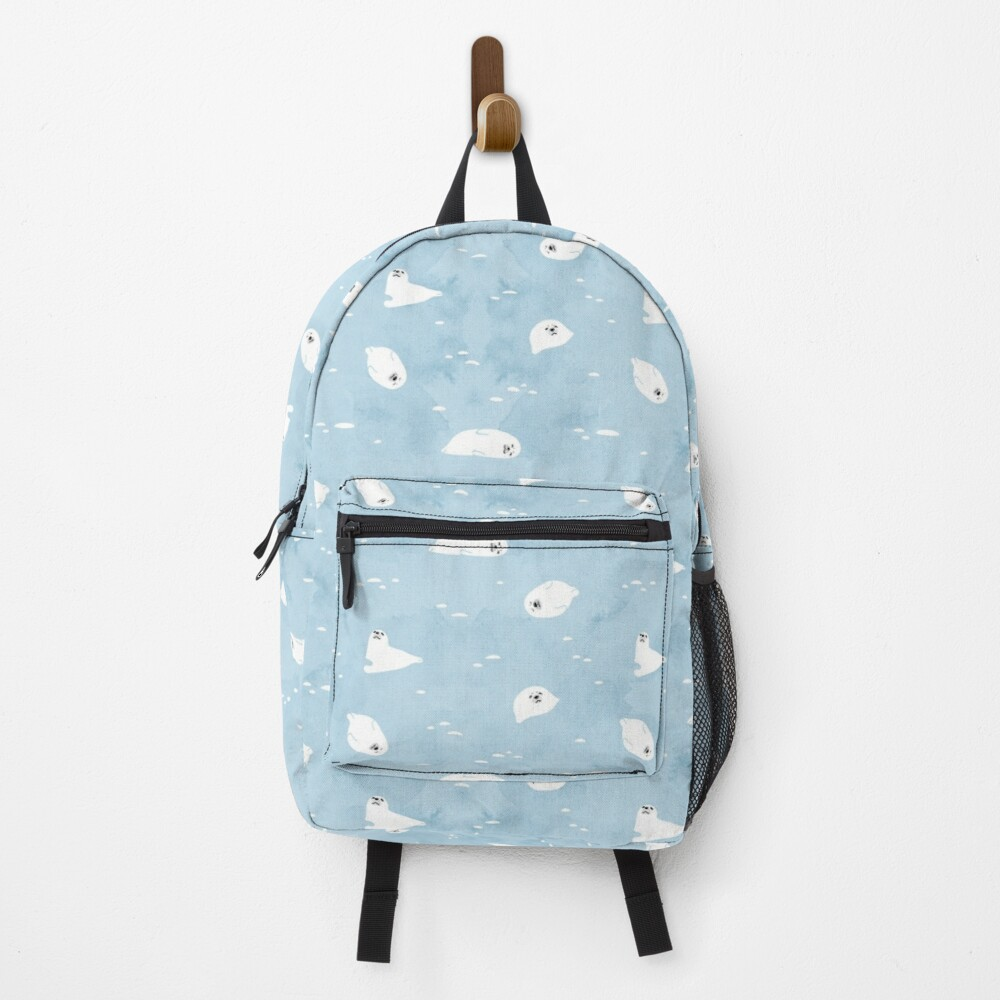 Baby Seal Pattern  Backpack