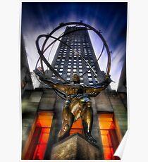Atlas at Rockerfeller Poster