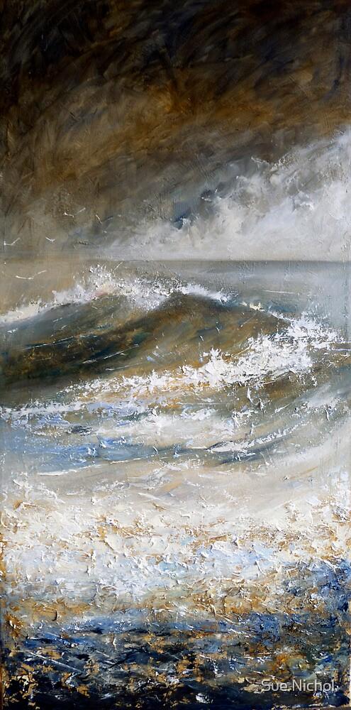 Cornish Sea by Sue Nichol