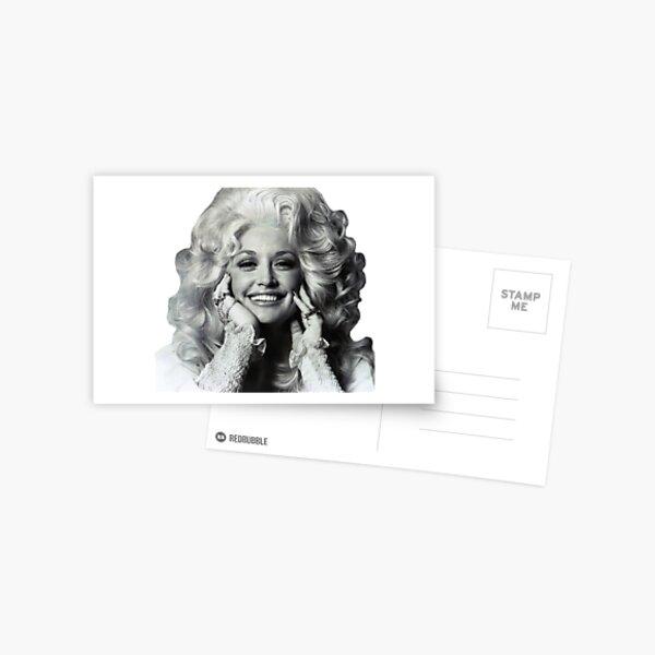 The Gorgeous Dolly Parton  Postcard